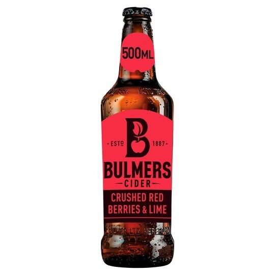 Bulmers Fruit Cider now in stock.