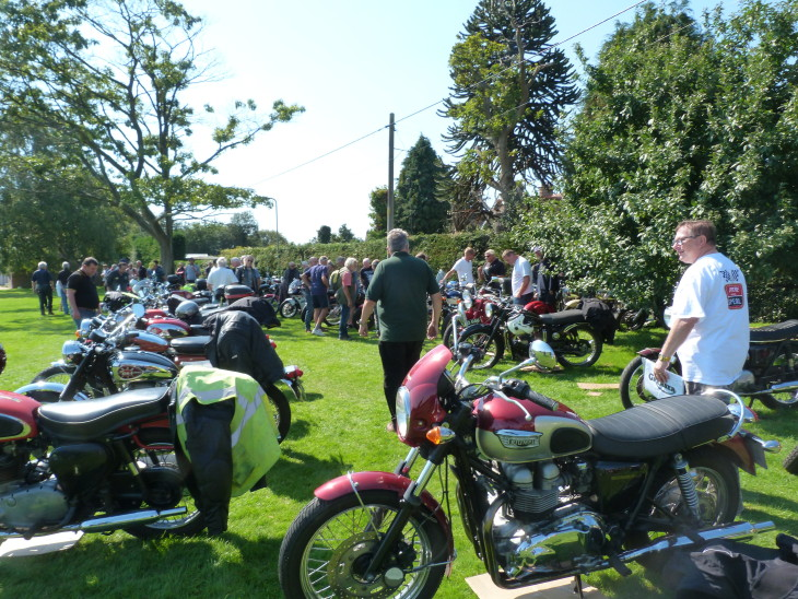 Photos From The B.S.A Bike Show