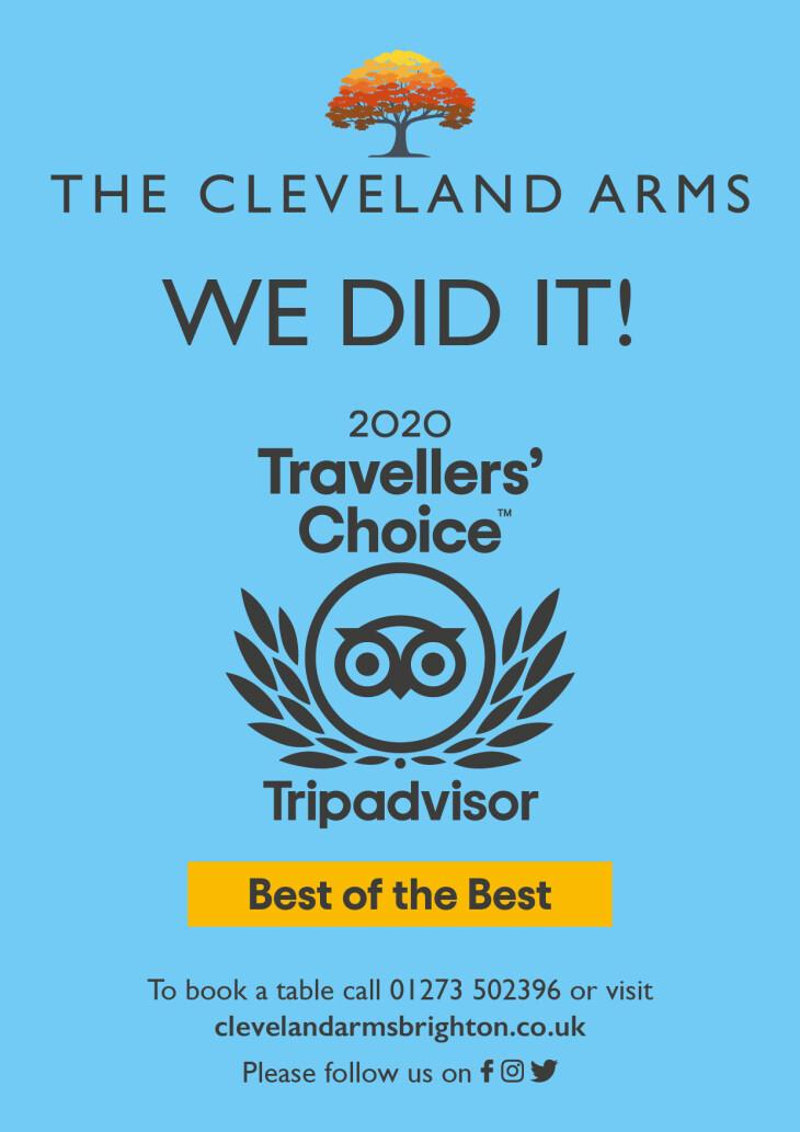 Tripadvisor Travellers Choice Award!!