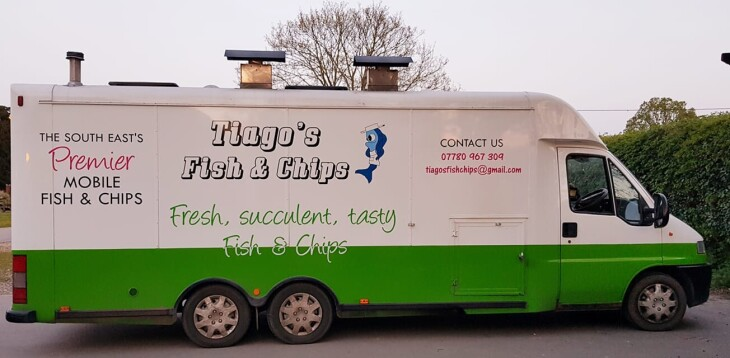 Tiagos Fish and Chip Van