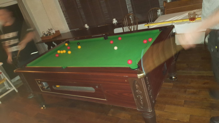 New pool table!