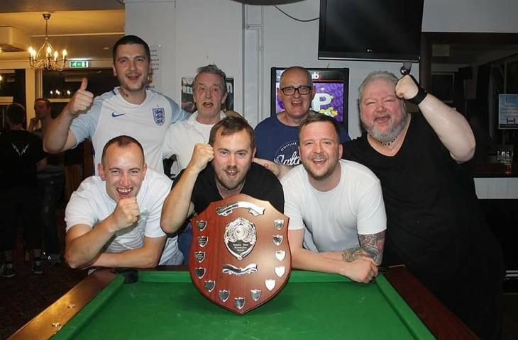 Pool Team Win Local Shield