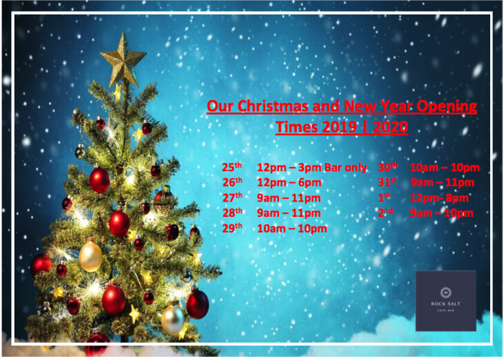 Christmas & New Year Hours