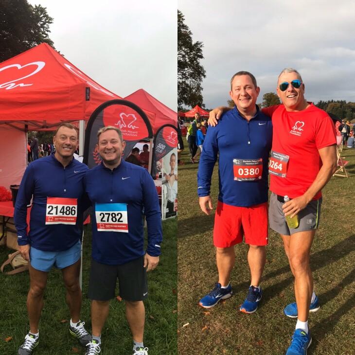 Ronnie & Mat are doing a half marathon