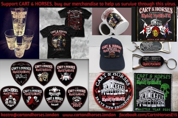 Cart & Horses merchandise list