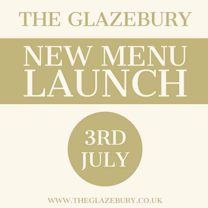 New Menu Launching 3rd July