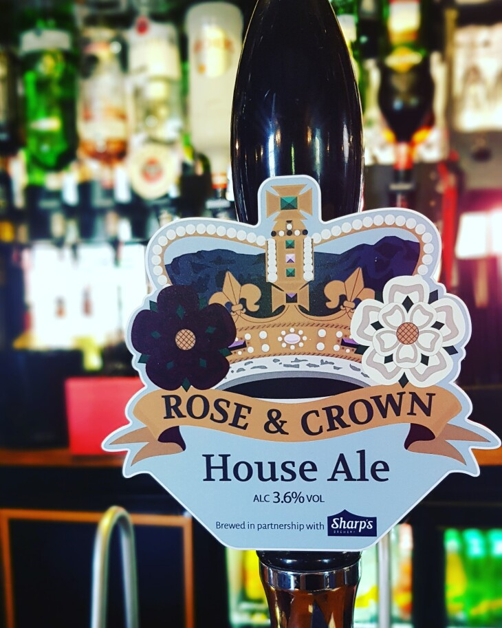 New Rose & Crown House Ale Available!
