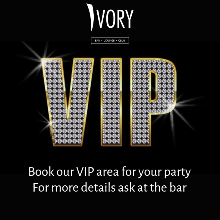 BOOK OUR VIP AREA FOR YOUR PARTY