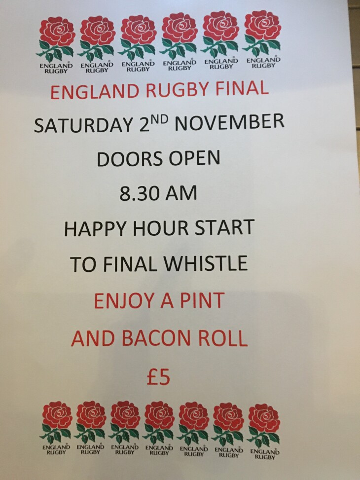 Rugby World Cup Final 2019