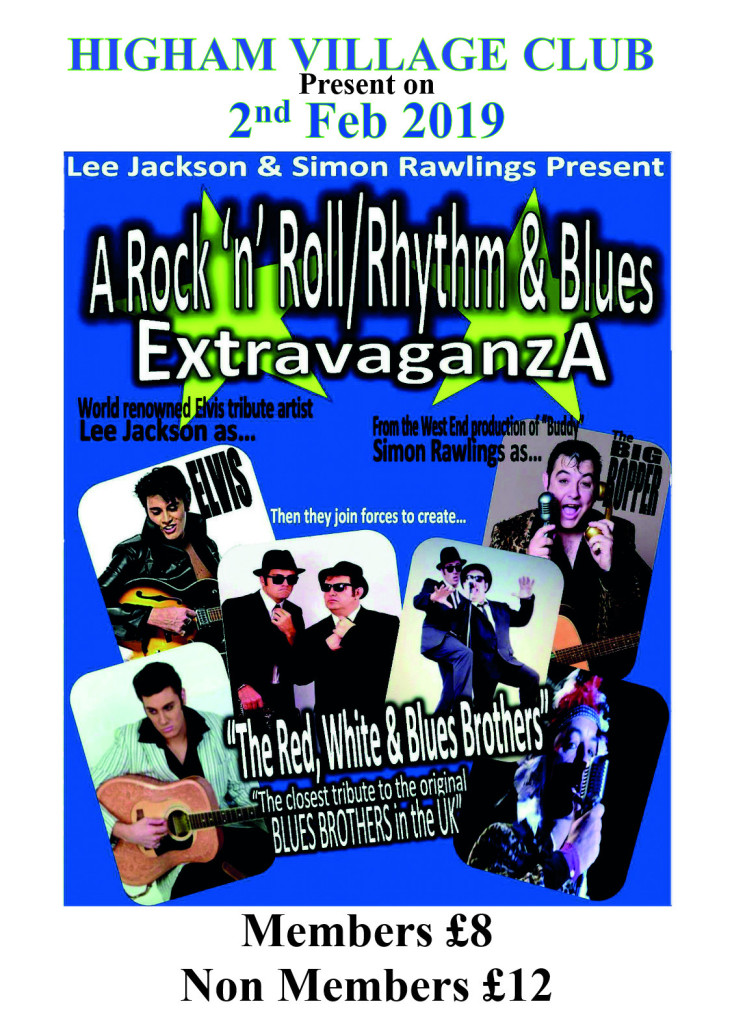 Blues Brothers & Elvis Cabaret show