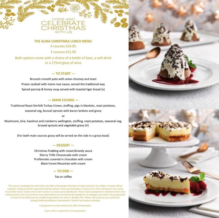 Christmas Menu is here!!