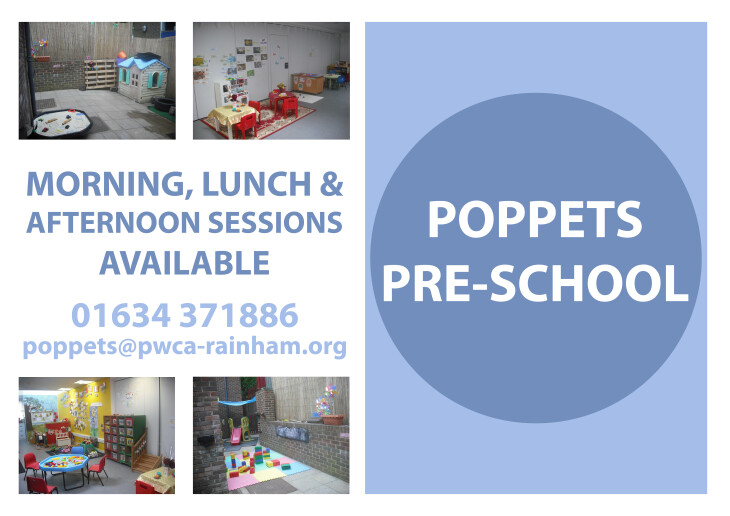 Poppets Pre-School -Places for Sept 19