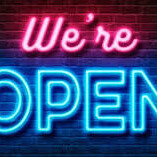 We Are Now Open Again!