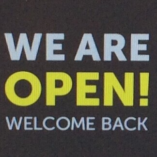 RE-OPENING SATURDAY 4 JULY 2020