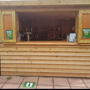 Garden Bar opening times