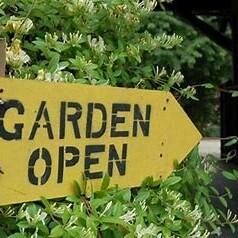 Book a garden table!