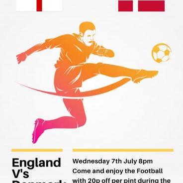 England v's Denmark