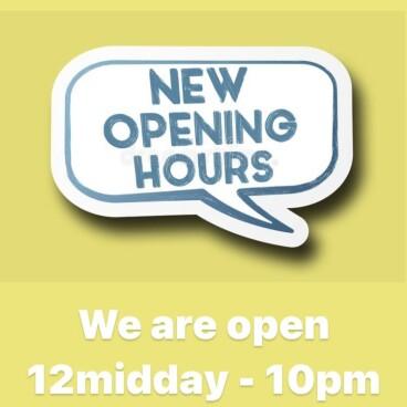 🤗NEW SUNDAY OPENING HOURS🤗