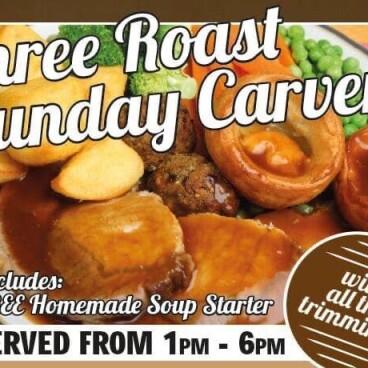 Sunday Carvery every Sunday