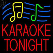 Tonight's karaoke