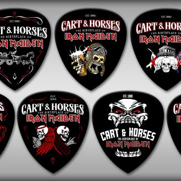 Cart & Horses Guitar Picks
