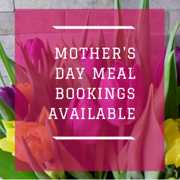 Mother's Day Meal Bookings