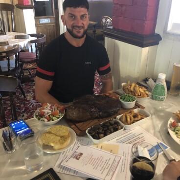 100oz Rump Steak Challenge