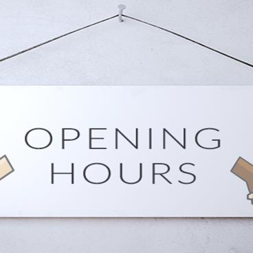 BCA THURSDAY OPENING HOURS