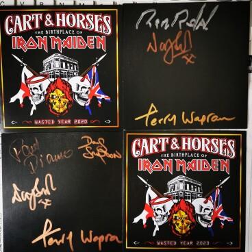 Cart & Horses signed CDs