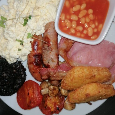 Breakfast @ The Plough