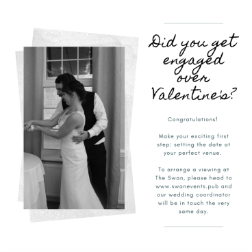 Did you get engaged over Valentine's?