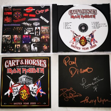 Cart & Horses WY2020 signed CD