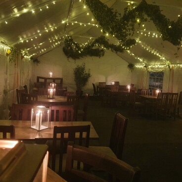 New Heated Marquee