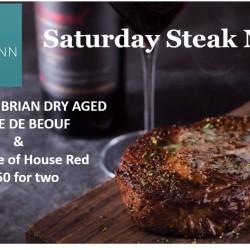 Saturday Steak Night