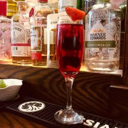 Chambord cocktails