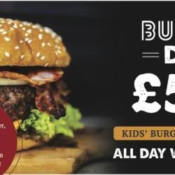Burger Day Wednesdays