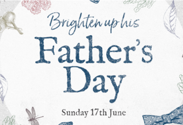 JOIN US AND BRIGHTEN UP FATHER'S DAY!