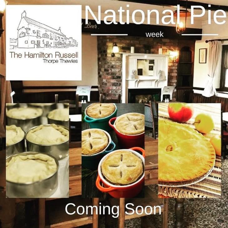 National Pie Week starts 3rd March