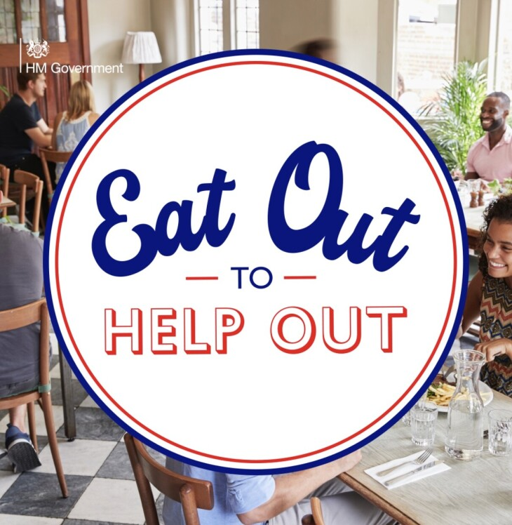 EAT OUT,TO HELP OUT!