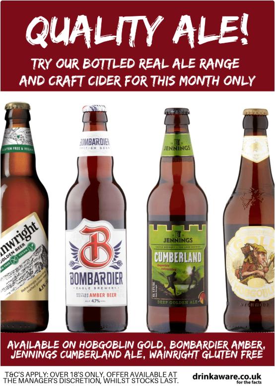 Bottled Real Ales
