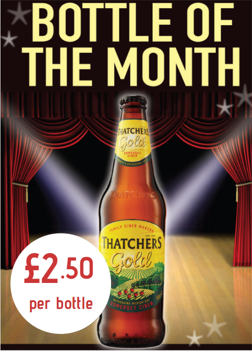 Bottle of the Month: Thatcher's Gold