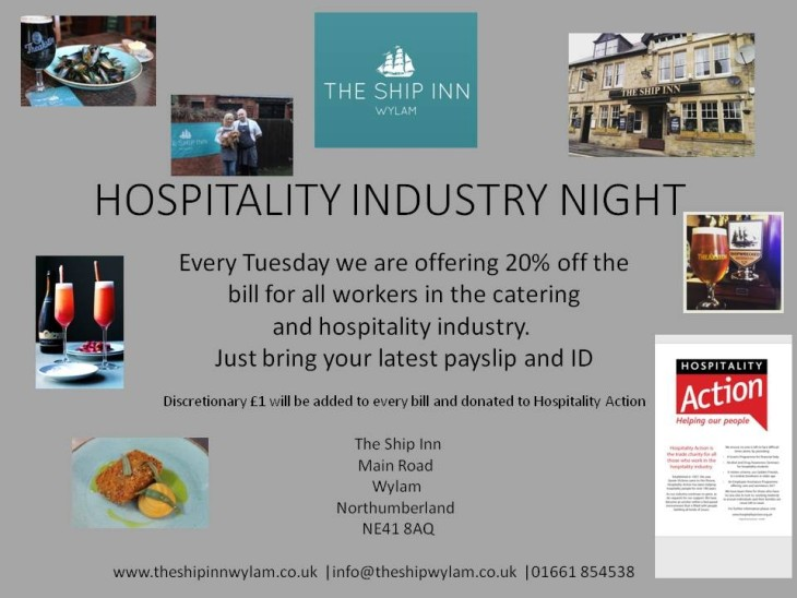 Hospitality Industry Night