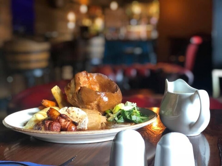 50% off Sunday Lunch