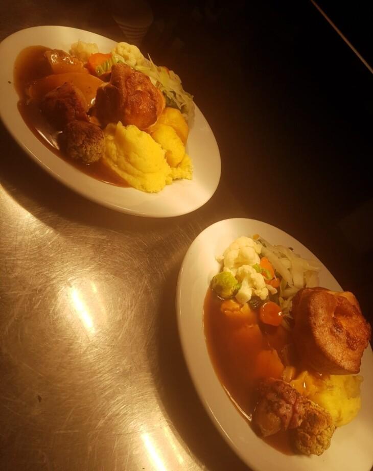 Roast Turkey Dinner... £10.95