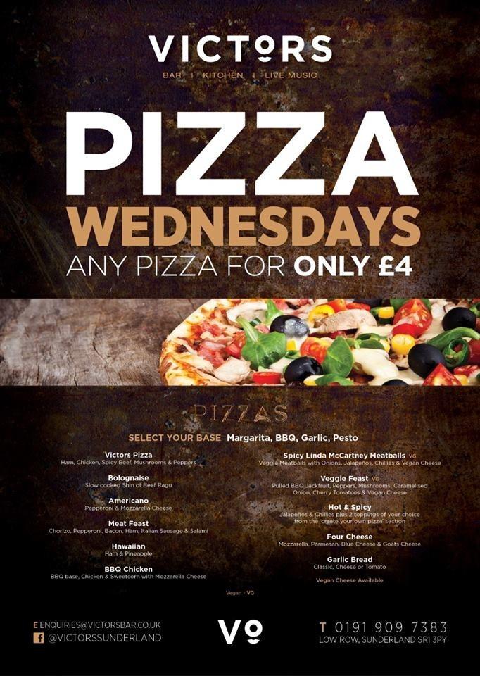 Pizza Wednesday's