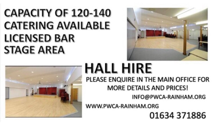 Hall Hire ** SPECIAL OFFERS **