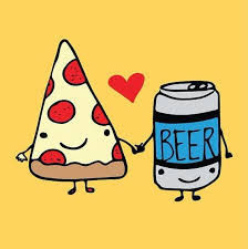 Pizza, Beer & Quiz £9