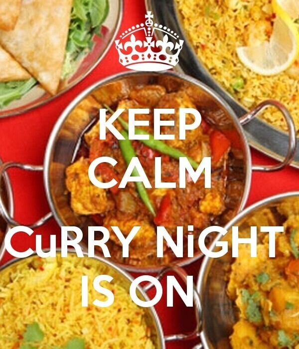 Curry Night Wednesday
