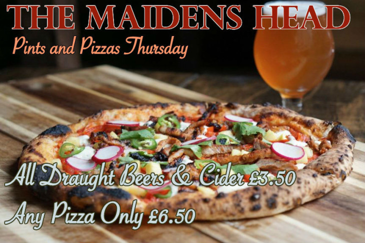 Pints and Pizza Thursday