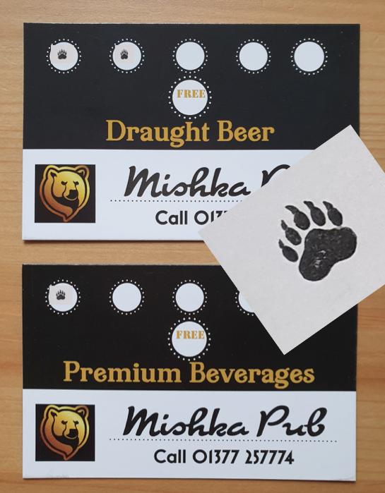 Summer Loyalty Cards @ Mishka!
